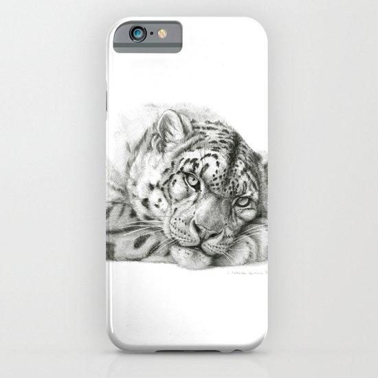 Pensive Snow Leopard G2011-011 iPhone & iPod Case