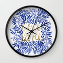 That's Life – Gold & Blue Wall Clock