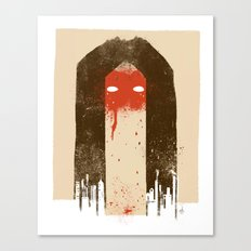 The Silence (Native Woman) Canvas Print