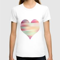 T-shirt featuring stripes by Laura Santeler