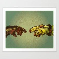Our Leap Art Print