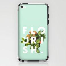Flourish #society6 #buyart #typography #artprint iPhone & iPod Skin