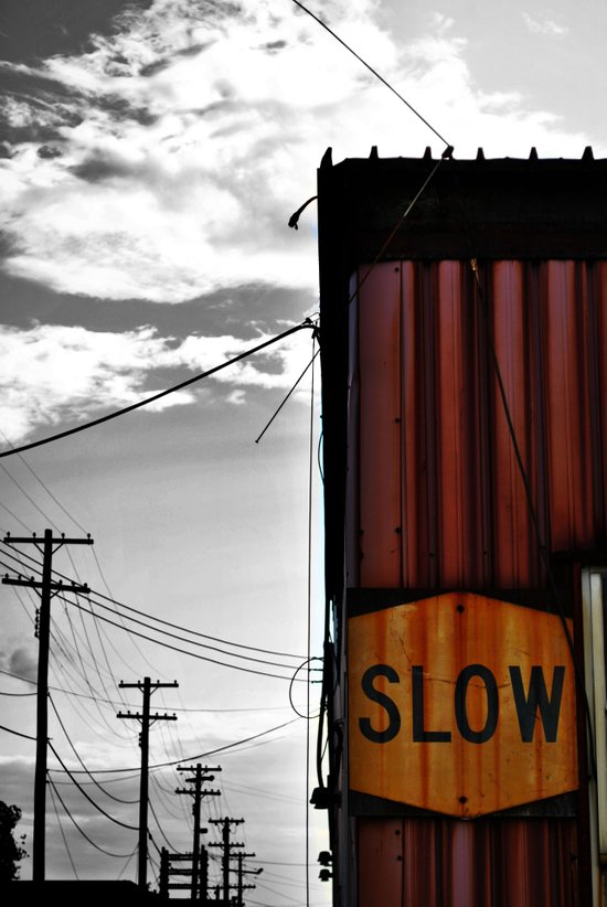 Slow Your Roll Art Print