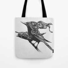 They Talk Together Tote Bag