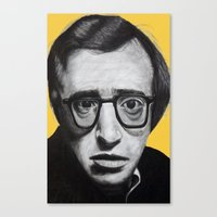 Woody Allen Canvas Print