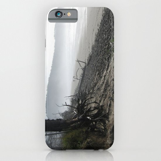 Misty Morning Walk iPhone & iPod Case