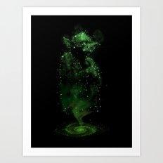 Jedi Constellation Art Print
