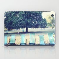 Hyde Park Chairs iPad Case