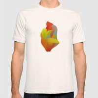 Shocking Colors Mens Fitted Tee Natural SMALL