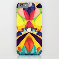 iPhone Cases featuring Poetry Geometry by Anai Greog