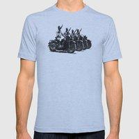 Four Horsemen Mens Fitted Tee Athletic Blue SMALL