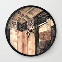 Inside The Art Deco Spac… Wall Clock