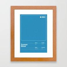 Truman Show Framed Art Print