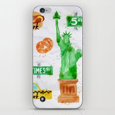 New York Symbols iPhone & iPod Skin