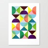 Geometry For Modern Hous… Canvas Print