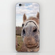 look at my horse... iPhone & iPod Skin