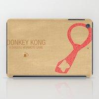 Donkey Kong Typography iPad Case