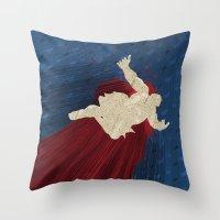 When Hondas Fly (Homage To Street Fighter's E. Honda) Throw Pillow