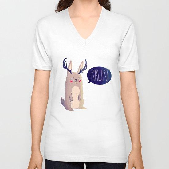 Fearsome Critter V-neck T-shirt