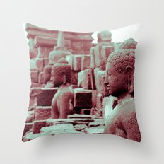 Borobudur Throw Pillow