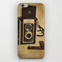 Time Love iPhone & iPod Skin