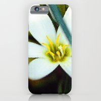 iPhone & iPod Case featuring Lady in White by -en-light-art-