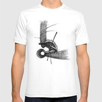 Pilgrim I. Mens Fitted Tee White SMALL