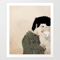 Smokey & the Jacket Art Print