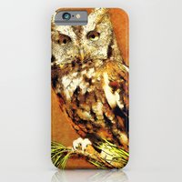 How Now Brown Owl iPhone 6 Slim Case