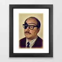 I.am.nerd. :: Davey II Framed Art Print