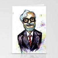 Hayao Miyazaki Stationery Cards