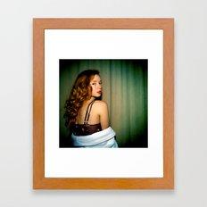 Hattie Framed Art Print