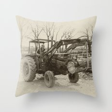 Old Massey 185  Throw Pillow