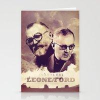 Sergio Leone/John Ford Stationery Cards