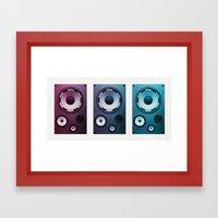 Stereo Sound Framed Art Print