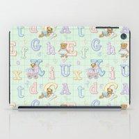 Teddy Bear Alphabet ABC'… iPad Case