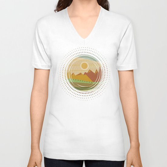Textures/Abstract 137 V-neck T-shirt