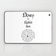 Alice In Wonderland Down The Rabbit Hole Laptop & iPad Skin