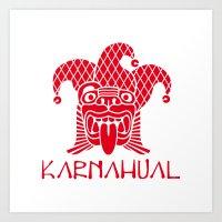 Karnahual Art Print