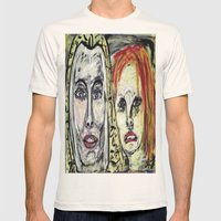 STAHMA AND IRISA Mens Fitted Tee Natural SMALL