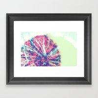 Mandala Burst Framed Art Print