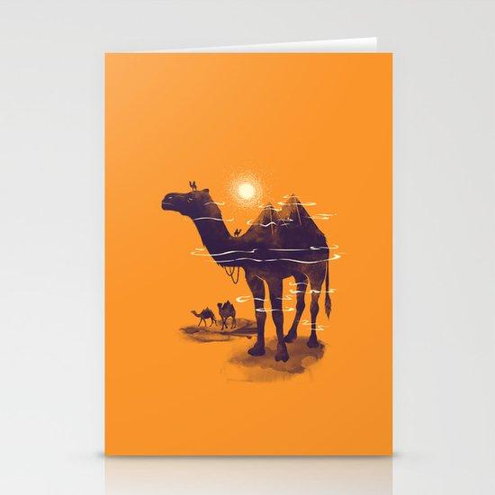 Walking Pyramid Stationery Card