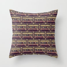 Are You Happy?  |  Cassette Tape Throw Pillow