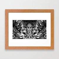 Mirrror mirror on the wall... Framed Art Print