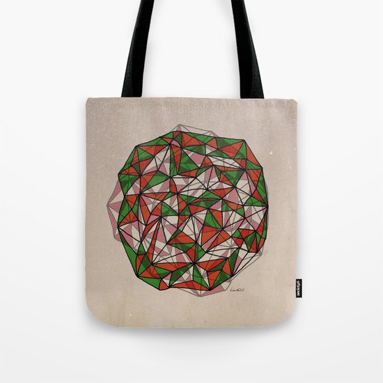 - red orange green - Tote Bag
