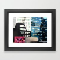 Entertainment Or Abuse? Framed Art Print