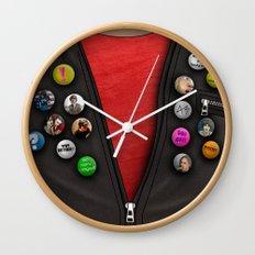 Badges Wall Clock
