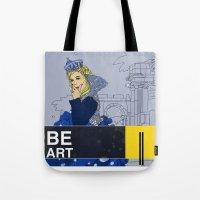 BE  ART Tote Bag