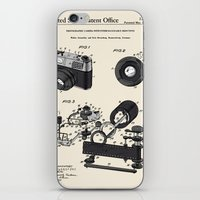 Camera Patent 1963 iPhone & iPod Skin
