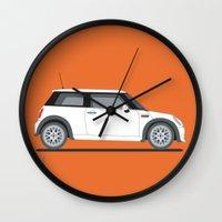 Mini Cooper Wall Clock